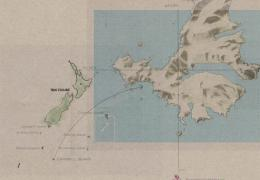 Campbell Island Bicentennial Expedition - Campbell Island map